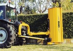 Косилка роторная для изгороди из кустов