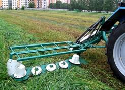 Косилка роторная КРР с ременным приводом для трактора МТЗ 80/82