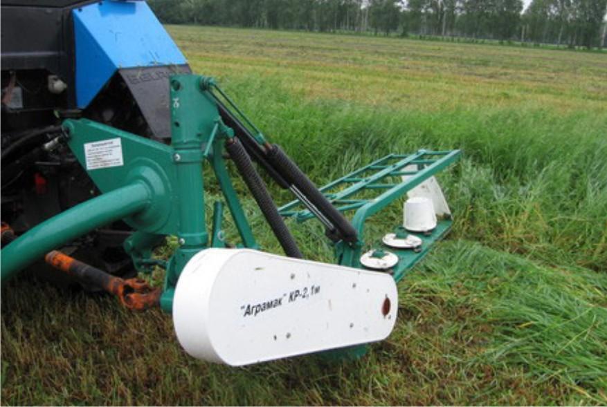 Навесная ротационная косилка для трактора Беларус МТЗ 82.1/80