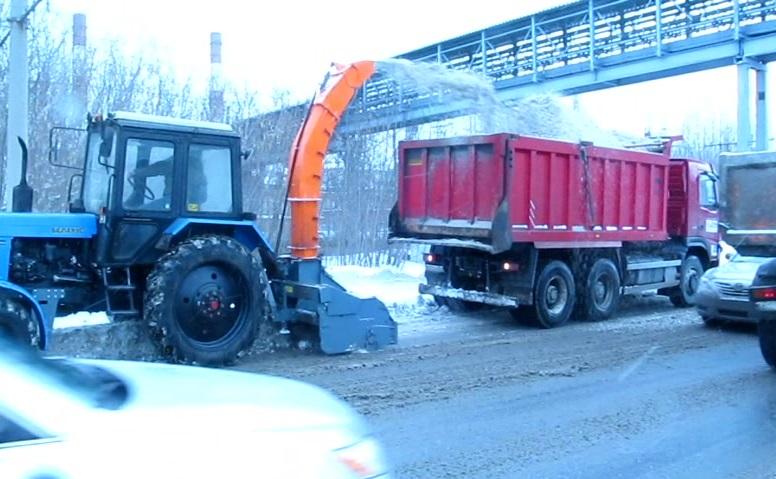 Машина коммунальная снегоуборочная 44_1