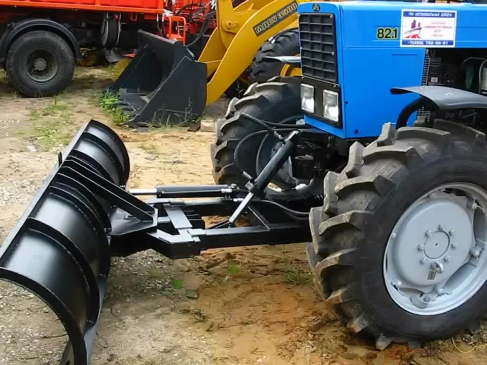 _оммунальное плужное оборудование (отвал) для трактора _Т_ 82.1 с мостом ___-822 01